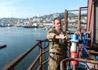В портовых грузоподъемных средствах